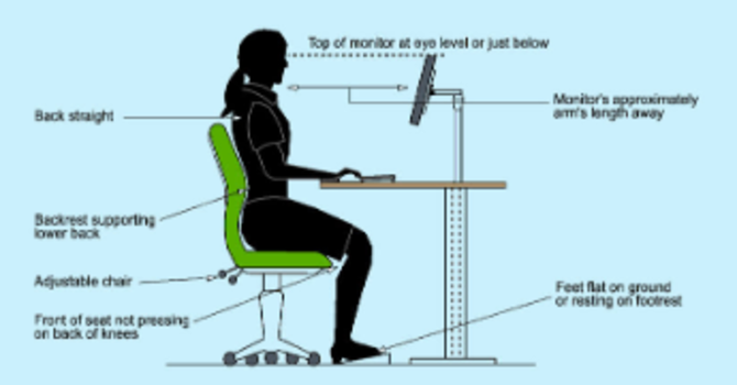 Tips On Setting Up Your Workspace Ergonomically image