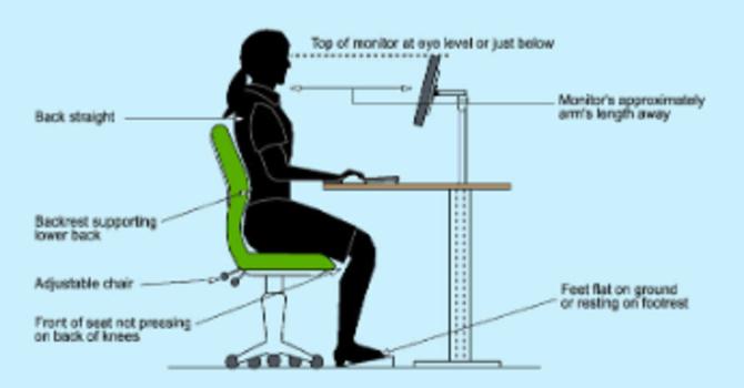 Tips On Setting Up Your Workspace Ergonomically image